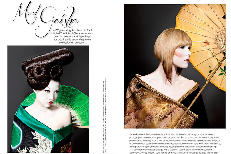 Mod Geisha Editorial